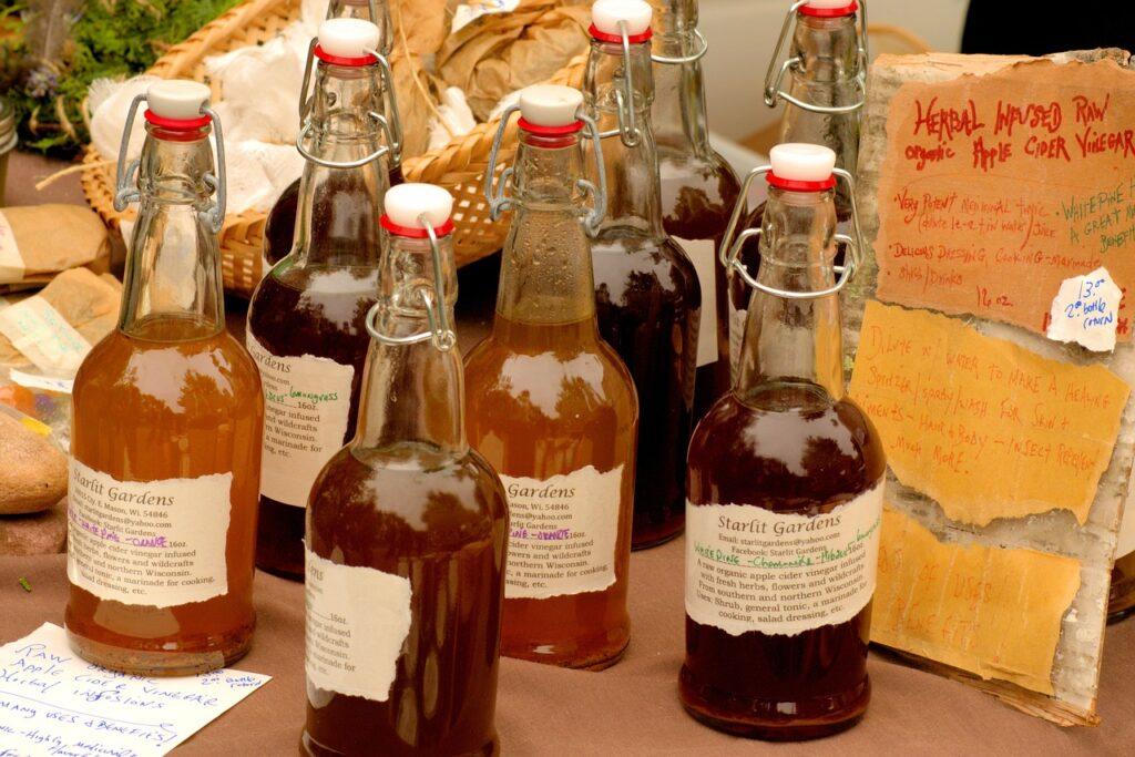 vinagre de sidra de manzana tiene antioxidantes